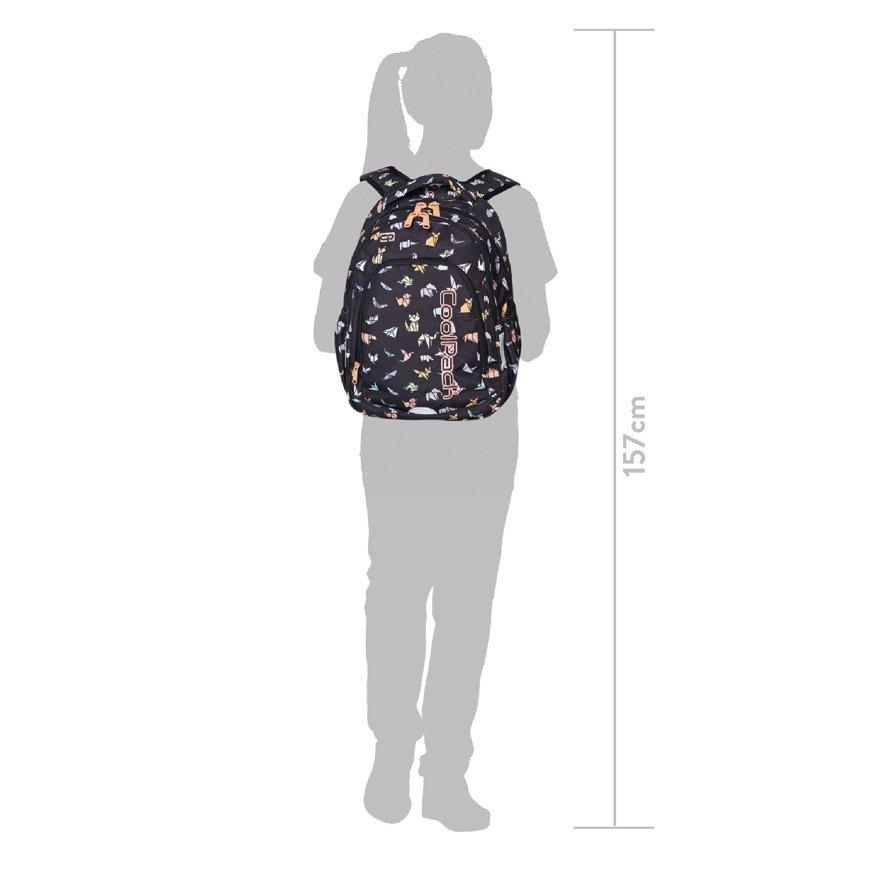 01e4b02c0f7e5 Kliknij, aby powiększyć · Plecak młodzieżowy szkolny CoolPack Prime Drawing  Hearts 26941CP ...